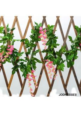 Simulation Wisteria Flower Vine Wedding Flower Decoration Fake Flower Wisteria Flower