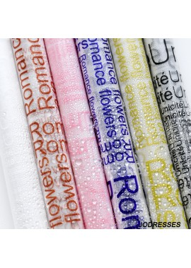 2PCS Packs Of Plastic Packaging Paper 59*59CM