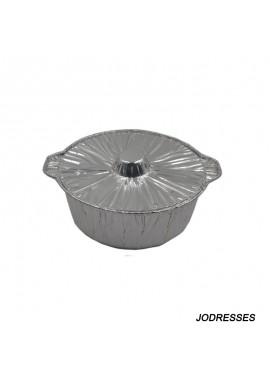 30PCS 2100ML Disposable Foil Boxes Disposable Baking Pans With Lids