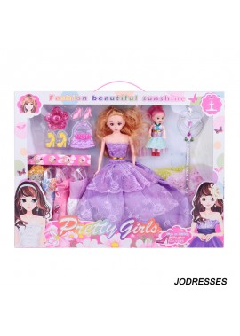 Dress Up Barbie Set Gift Box Specification 42*32.5*5.5CM