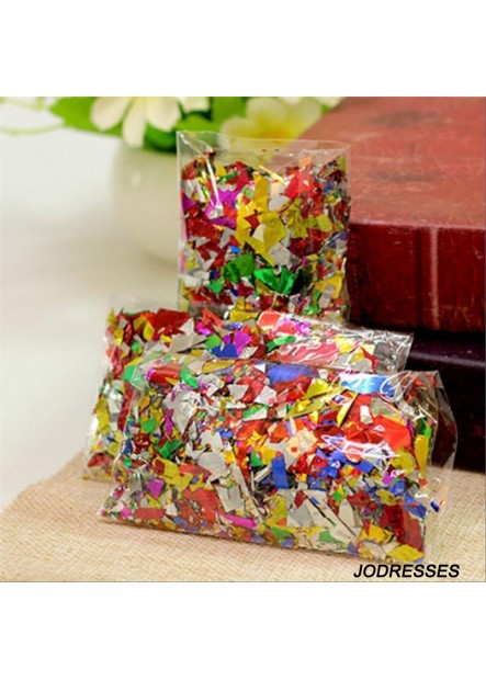 Sequins And Shredded Papers For photoshoots birthdays engagements and surprise parties.