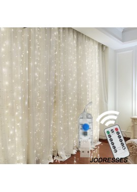 Curtain Lights Decorative Lights String Stars 3×3M 300 Lights