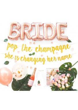 Marriage Party Balloon Decoration Set Bachelorette Party Decorations Kit