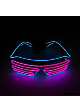 Two-Tone EL Blinds Luminous Glasses