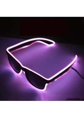 Stage Atmosphere Props Glow Glasses 52*148MM