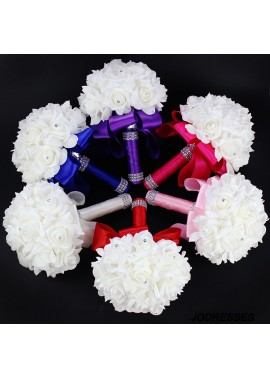 Wedding Bouquet Roses Bride Bridesmaid Wedding Holding Bouquet 18CM*24CM