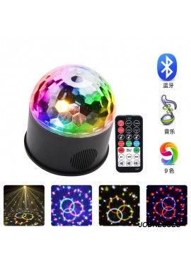 Remote Control Bluetooth Music LED Crystal Magic Ball Party Lights 12*13.8CM
