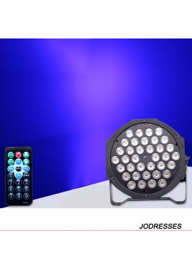 Party Lights Remote Control 36 Led Par Lights 20CM High And 20.2CM Long