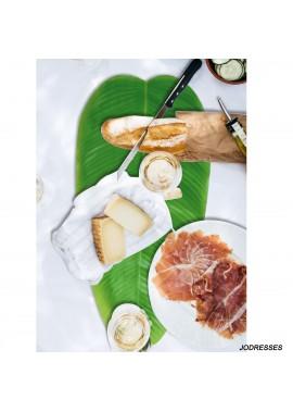 6PCS Banana Leaf Table Mat Place Mat 58CM Length*28.5CM Width