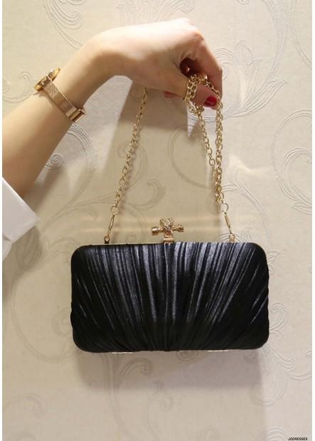 New Pleated Velvet Cloth Square Slung Dinner Handbags T901556157814