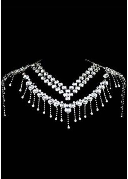 Elegant Rhinestone Shoulder Chains T901556431189