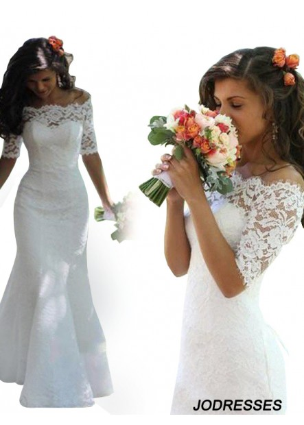 Jodresses 2021 Lace Wedding Dress T801524714621