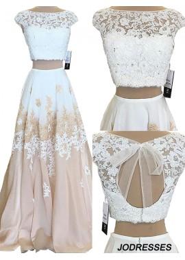 Jodresses Two Piece Long Prom Evening Dress T801524703811
