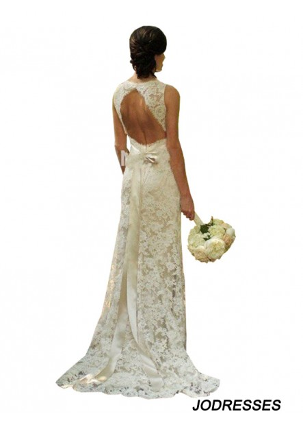 Jodresses 2020 Beach Lace Wedding Dresses T801524714634