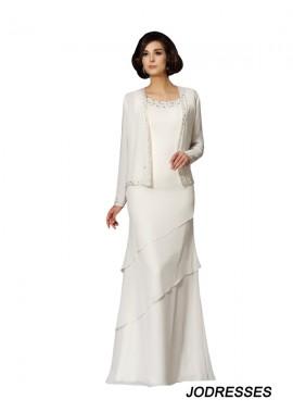 Jodresses White Floor Length Mother Of The Bride Dress T801524724996