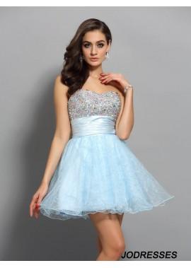 Jodresses Sexy Short Homecoming Prom Evening Dress T801524711144