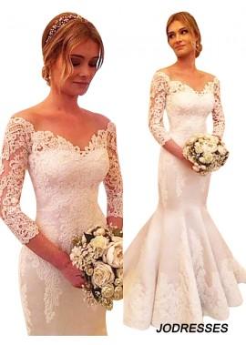 Jodresses 2020 Lace Wedding Dress T801524714983
