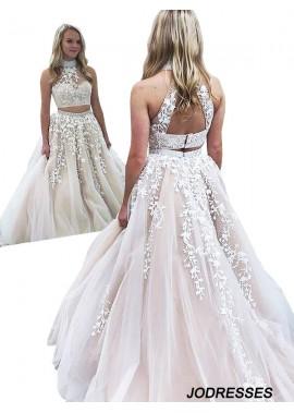 Jodresses Two Piece Long Prom Evening Dress T801524703834