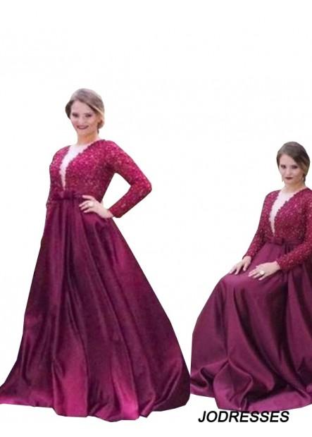 Jodresses Plus Size Prom Evening Dress T801524704212