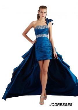 Jodresses High Low Long Prom Evening Dress T801524708706