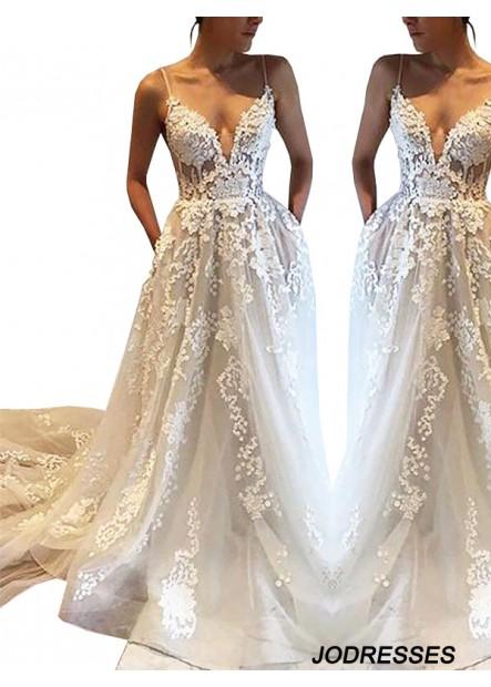 Jodresses 2021 Beach Wedding Dresses T801524714695
