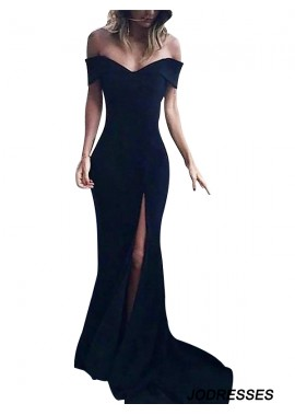 Jodresses Black Long Prom Evening Dress T801524703580