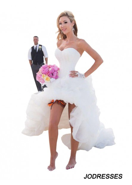 Jodresses 2020 Beach Short Wedding Dresses T801524713738