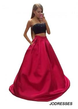 Jodresses Two Piece Long Prom Evening Dress T801524705250