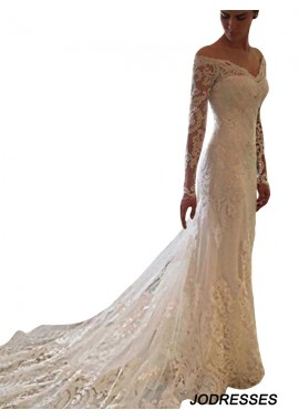 Jodresses 2021 Beach Lace Wedding Dresses T801524714687