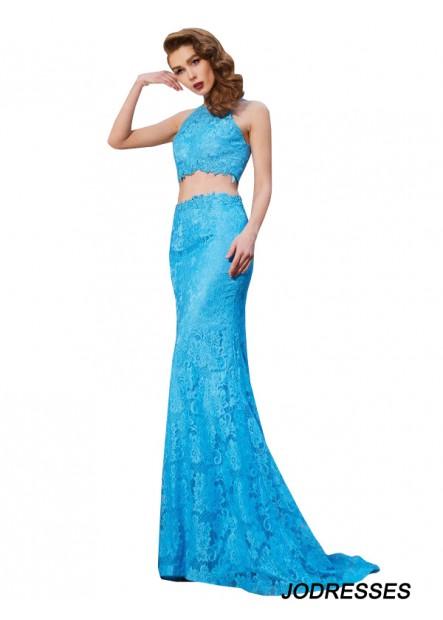 Jodresses Two Piece Long Prom Evening Dress T801524707702