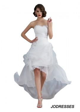 Jodresses 2020 Beach Short Wedding Dresses T801524715033
