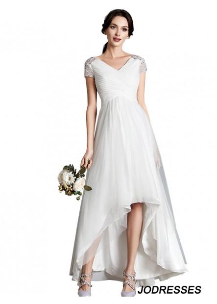 Jodresses 2021 Beach Short Wedding Dresses T801524714775