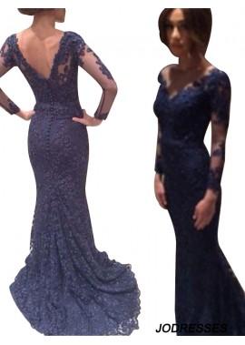 Jodresses Mermaid Long Prom Evening Dress T801524703999