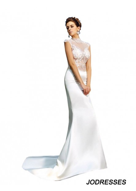 Jodresses Sexy Beach Lace Mermaid Wedding  / Evening Dresses T801524705447