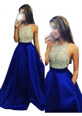 Jodresses 2020 Long Prom Evening Dress T801524702337