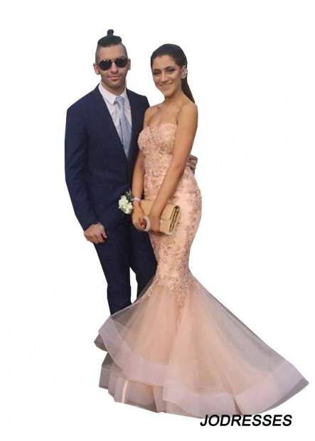 Jodresses Mermaid Long Prom Evening Dress T801524704143