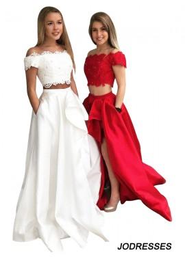 Jodresses Two Piece Long Prom Evening Dress T801524703851