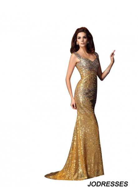 Jodresses Sexy Mermaid Prom Evening Dress T801524705352