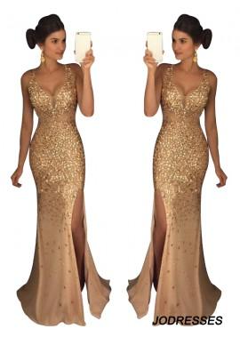 Jodresses The Gold Long Prom Evening Dress T801524640105