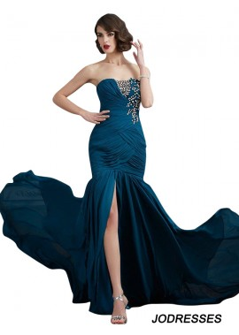 Jodresses Mermaid Long Prom Evening Dress T801524706721