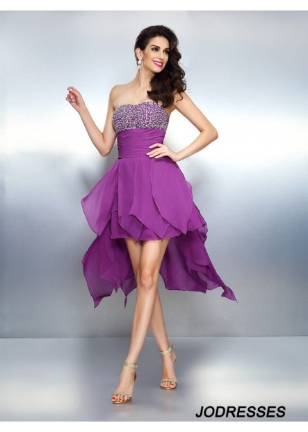 Jodresses Sexy Short Homecoming Prom Evening Dress T801524710802