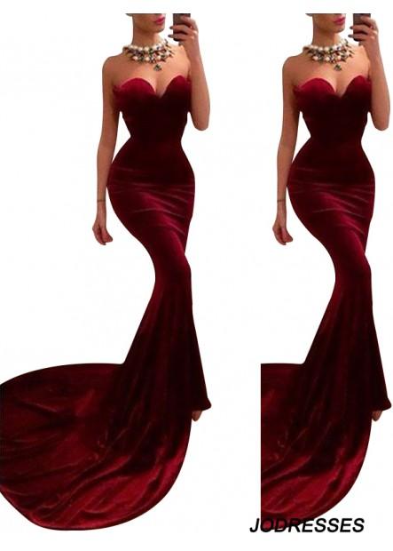 Jodresses Mermaid Long Prom Evening Dress T801524703848