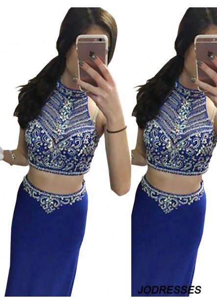 Jodresses Two Piece Long Prom Evening Dress T801524705465