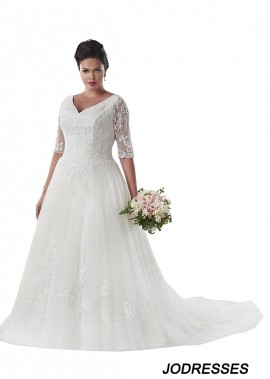 Jodresses Plus Size Wedding Dress T801525331194