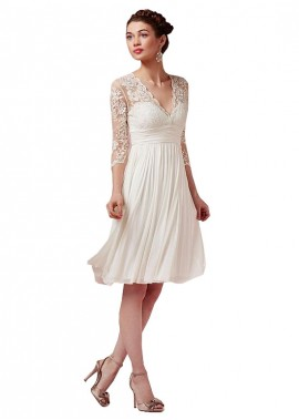 Jodresses Beach Short Wedding Dresses T801525317575