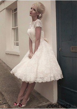 Jodresses Beach Short Wedding Ball Gowns T801525318805