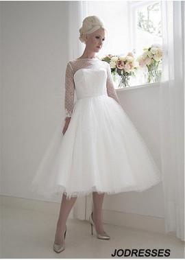 Jodresses Short Wedding Dress T801525383613