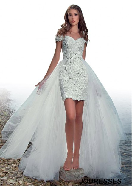 Jodresses Beach Short Wedding Dresses T801525320213