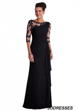 Jodresses Black Mother Of The Bride Dress T801525338423
