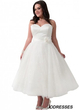 Jodresses Short Plus Size Wedding Dress T801525317605